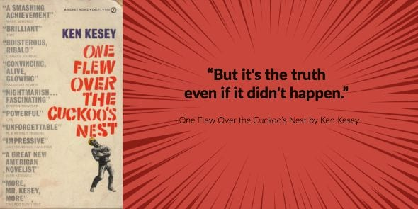a comparison of one flew over the cuckoos nest by ken kesey and 1984 by george orwell 1984, george orwell a book that still transcends its status as a cultural cliché 6  one flew over the cuckoo's nest, ken kesey even better than the.