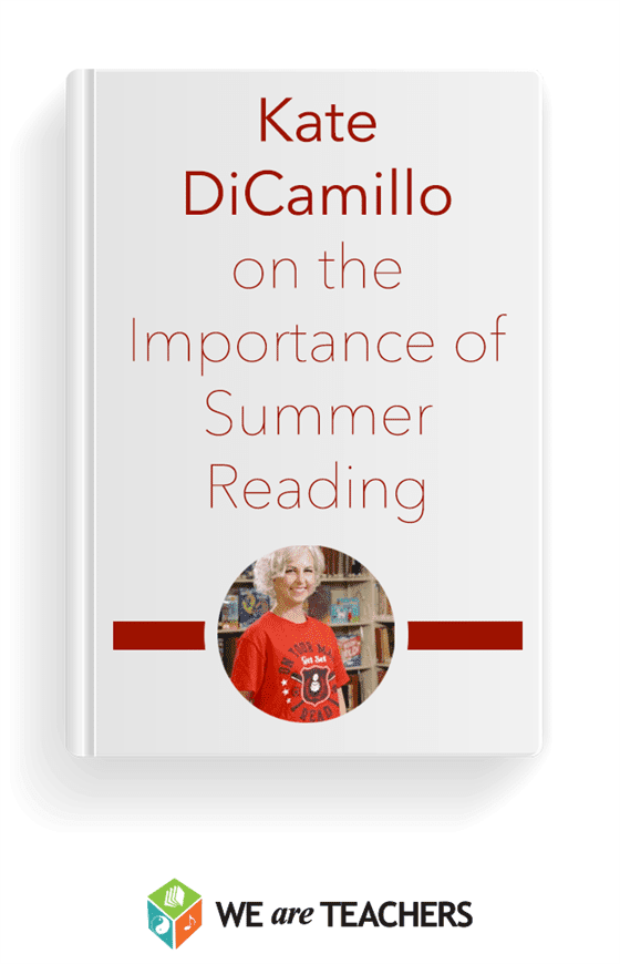 We Talk With Kate DiCamillo About the Importance of Summer Reading ...