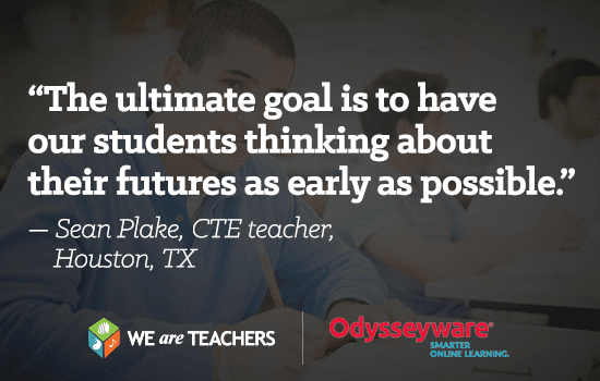 The ultimate goal is to have our students thinking about their futures as early as possible