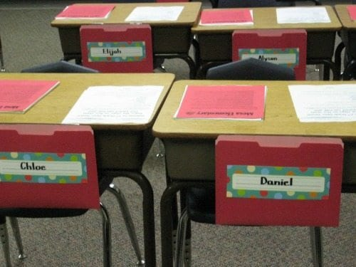 Innovative Classroom Management Ideas : Innovative ways to organize take home folders for your