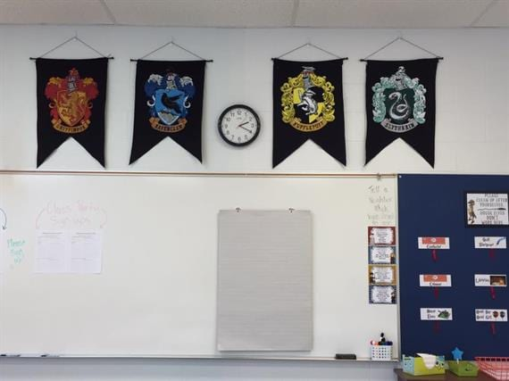 This Teacher Went a Little Crazy With Her Harry Potter