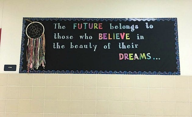 inspiring quote for classroom
